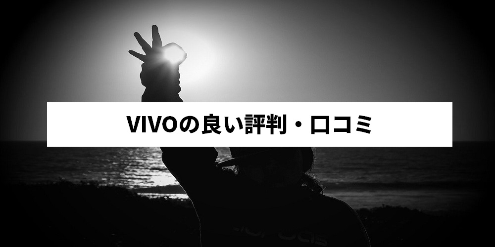 VIVOの良い評判・口コミ