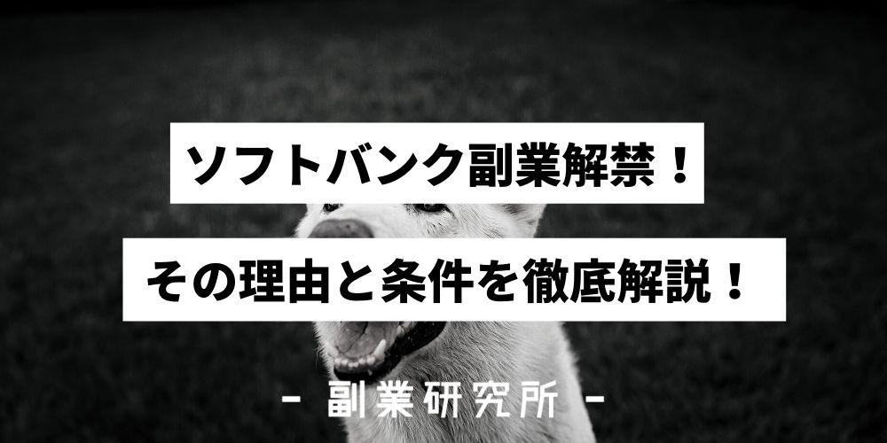 【圧倒的成長】ソフトバンク副業解禁!その理由と条件を徹底解説!