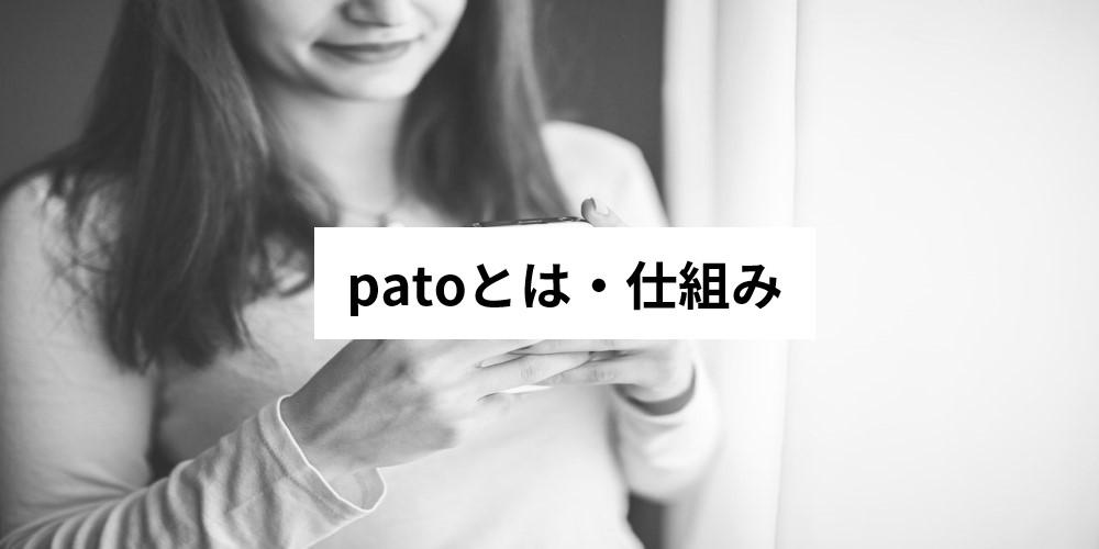 patoとは・仕組み